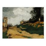 Paisaje de Paul Cezanne- Postal