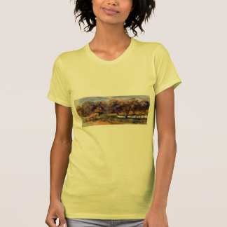 Paisaje de Pedro-Auguste Renoir- con la huerta Camisetas