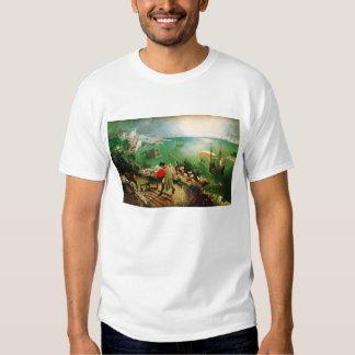 Paisaje de Pieter Bruegel con la caída de Ícaro Camisas