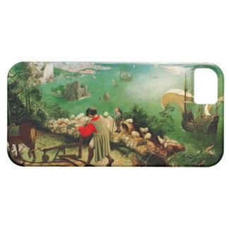Paisaje de Pieter Bruegel con la caída de Ícaro iPhone 5 Funda