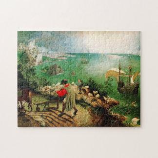 Paisaje de Pieter Bruegel con la caída de Ícaro Puzzles