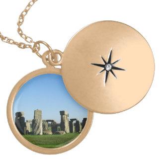 Paisaje de Stonehenge Medallones