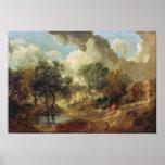 Paisaje de Suffolk, 1748 Impresiones