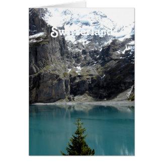 Paisaje de Suiza Tarjeta Pequeña