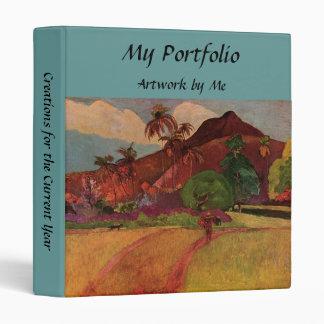 """Paisaje de Tahitian de Paul Gauguin (1893) Carpeta 1"""""""