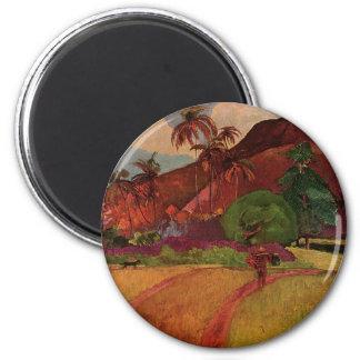 Paisaje de Tahitian de Paul Gauguin 1893 Imán De Frigorifico