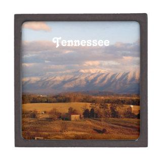 Paisaje de Tennessee Caja De Recuerdo De Calidad