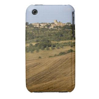 Paisaje de Toscana alrededor de Monticchiello del  Case-Mate iPhone 3 Cárcasas