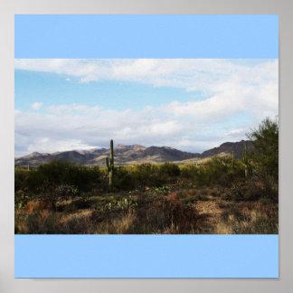 Paisaje de Tucson Impresiones
