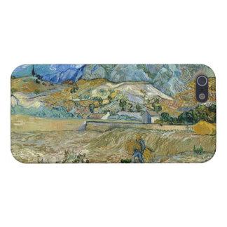 Paisaje de Vincent van Gogh en el caso del Santo-R iPhone 5 Fundas