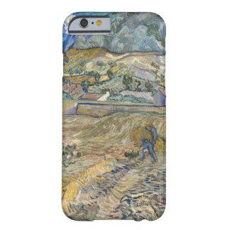 Paisaje de Vincent van Gogh en la bella arte del Funda De iPhone 6 Barely There