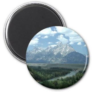 Paisaje de Wyoming Imán De Frigorifico
