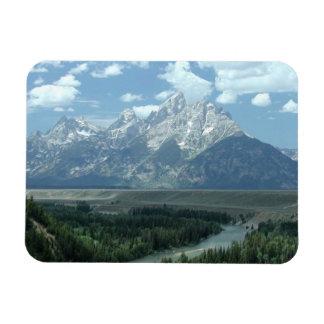 Paisaje de Wyoming Imanes De Vinilo