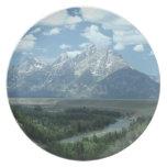 Paisaje de Wyoming Platos De Comidas
