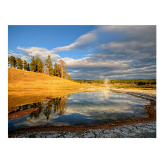 Paisaje de Yellowstone Tarjeta Postal