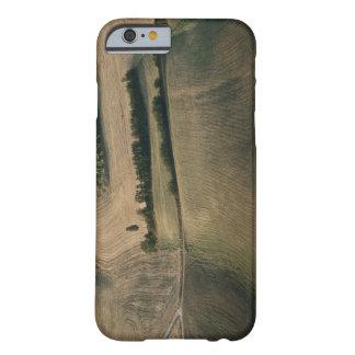 Paisaje del balanceo, Pienza, Toscana, Italia Funda Para iPhone 6 Barely There