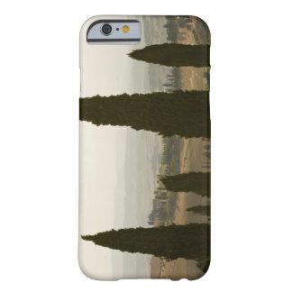 Paisaje del balanceo, Toscana, Italia 2 Funda Para iPhone 6 Barely There