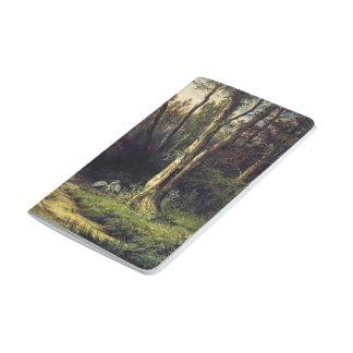 Paisaje del bosque de Ivan Shishkin- con las garza Cuadernos