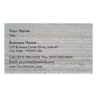 Paisaje del campo arado con el modelo de las filas plantilla de tarjeta de negocio