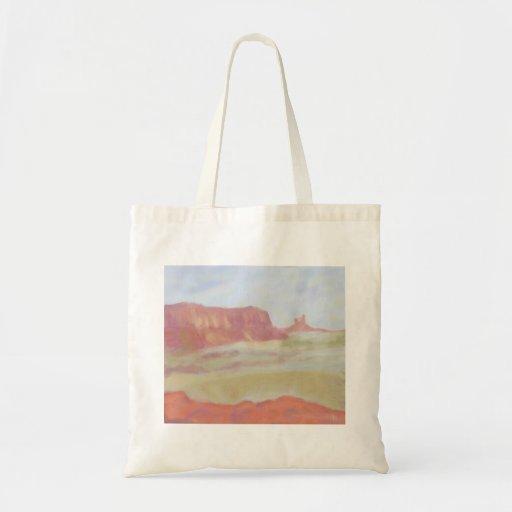 Paisaje del desierto, bolso bolsa tela barata