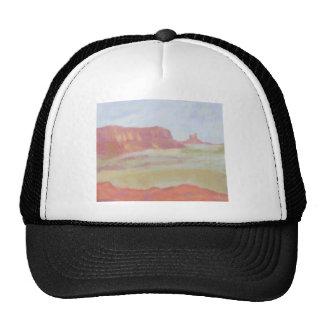 Paisaje del desierto, gorra