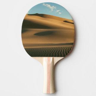 Paisaje del desierto pala de ping pong