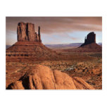 Paisaje del desierto postales