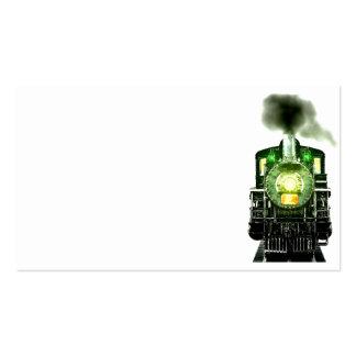 Paisaje del ferrocarril tarjetas personales