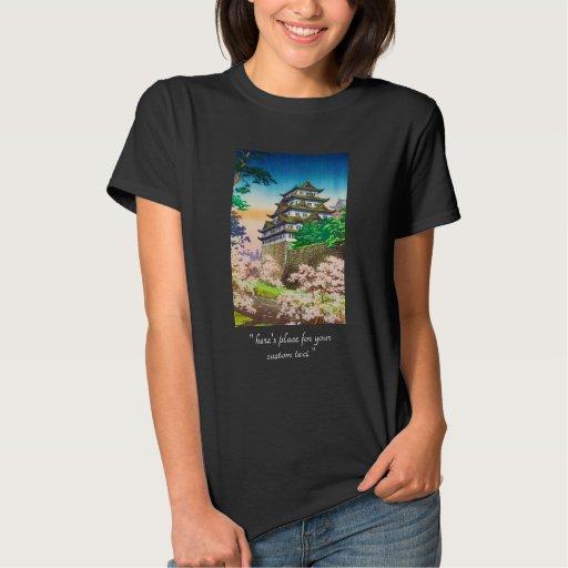 Paisaje del hanga de la espinilla del castillo de playera