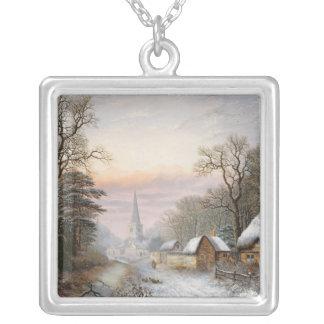 Paisaje del invierno, 1869 joyerias
