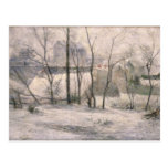 Paisaje del invierno, 1879 tarjetas postales