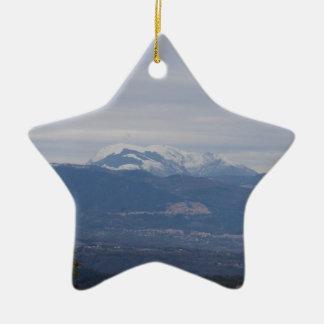 Paisaje del invierno de Calabria Ornamentos Para Reyes Magos