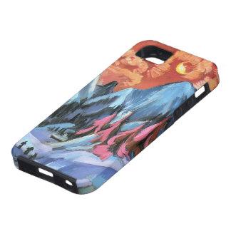 Paisaje del invierno de Ernst Kirchner- en claro iPhone 5 Case-Mate Cobertura
