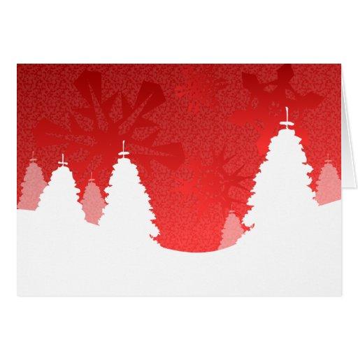 Paisaje del invierno - tarjeta de felicitación gaé