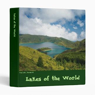 """Paisaje del lago azores carpeta 1"""""""