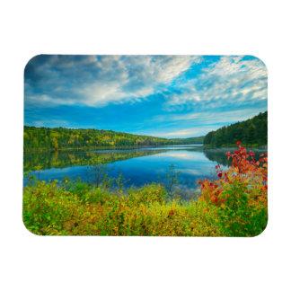 Paisaje del lago Costello Imanes Flexibles