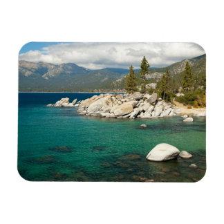 Paisaje del lago Tahoe Iman Rectangular