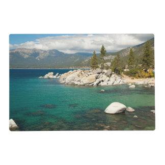 Paisaje del lago Tahoe Tapete Individual
