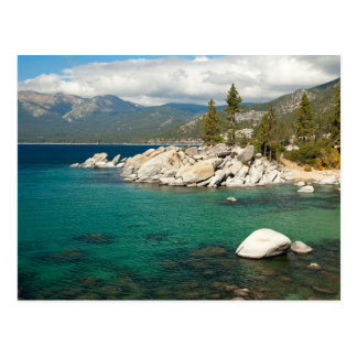 Paisaje del lago Tahoe Postal