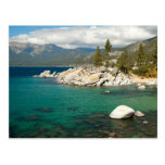Paisaje del lago Tahoe Tarjetas Postales