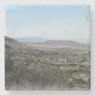 Paisaje del oeste de Tejas Posavasos De Piedra
