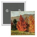 Paisaje del otoño, c.1903 (aceite en lona) pin cuadrado