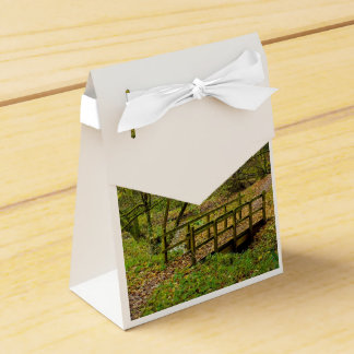 Paisaje del otoño cajas para regalos