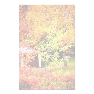 Paisaje del otoño  papeleria