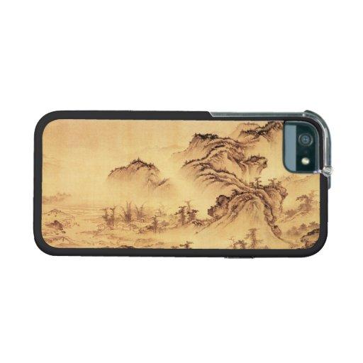 Paisaje del paisaje de la pintura de Sumi-e del ch