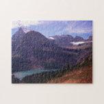 Paisaje del Parque Nacional Glacier Puzzles