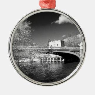Paisaje del río de la ciudad de York Ornamente De Reyes