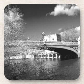 Paisaje del río de la ciudad de York Posavasos De Bebida