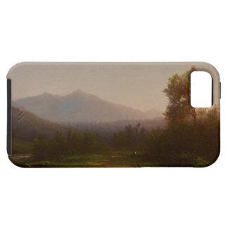 Paisaje del río Hudson, c.1860-5 (aceite en lona) iPhone 5 Carcasa
