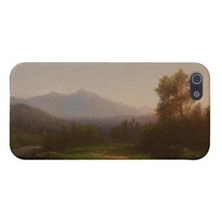 Paisaje del río Hudson, c.1860-5 (aceite en lona) iPhone 5 Fundas
